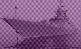 Российский «Адмирал Трибуц» пресёк попытку американского эсминца нарушить границу РФ