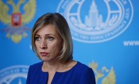 Захарова обвинила Киев в эскалации конфликта на Донбасе