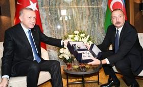 Алиев подарил Эрдогану наручные часы с изображением карабахской орхидеи